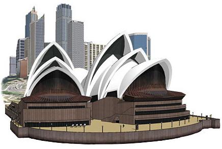 Desain bangunan 3d gengan google sketchup 7 wahana for Progetti 3d