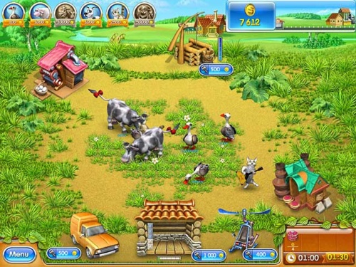 Download Farm Frenzy 3: Russian Roulette Gratis